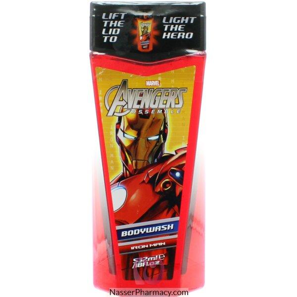 Marvel B/wash Hero Ironman Lite Up 532ml-48136
