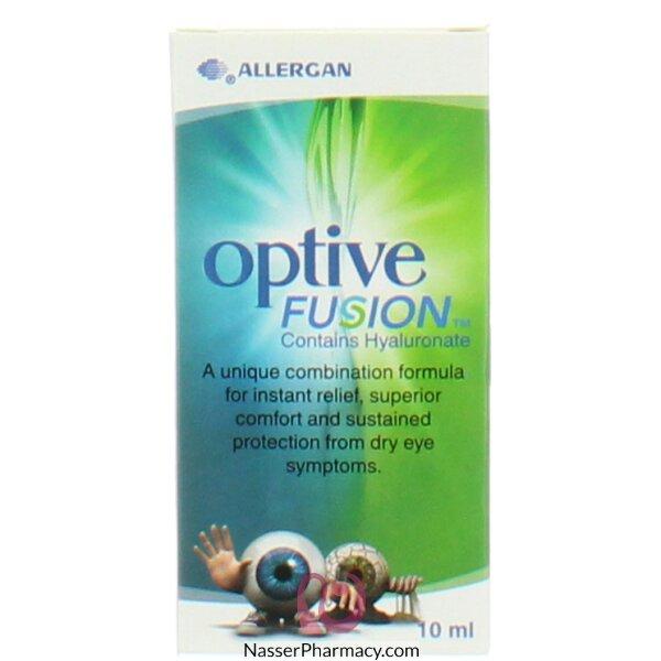 أوبتيف فيوجن Optive Fusion  قطرة مرطبة للعين 10 مل
