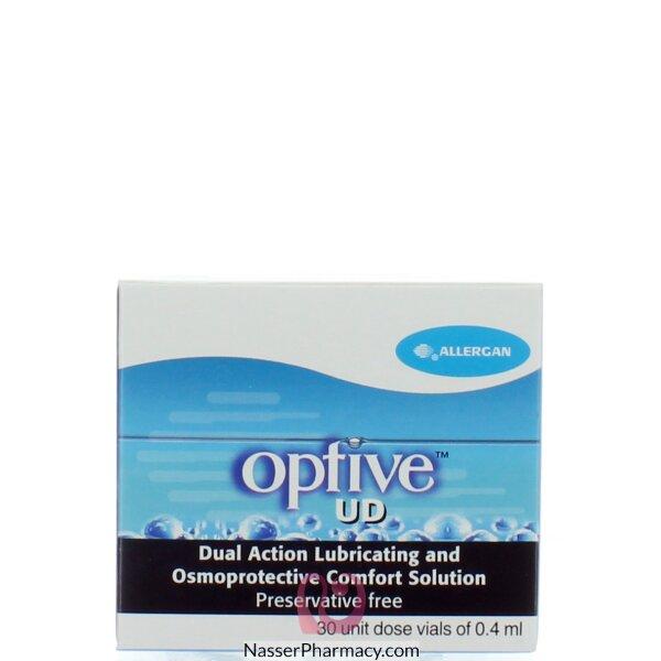 أوبتيف(optive) 0.4 مل قطرة للعين (30 عبوة مفردة )