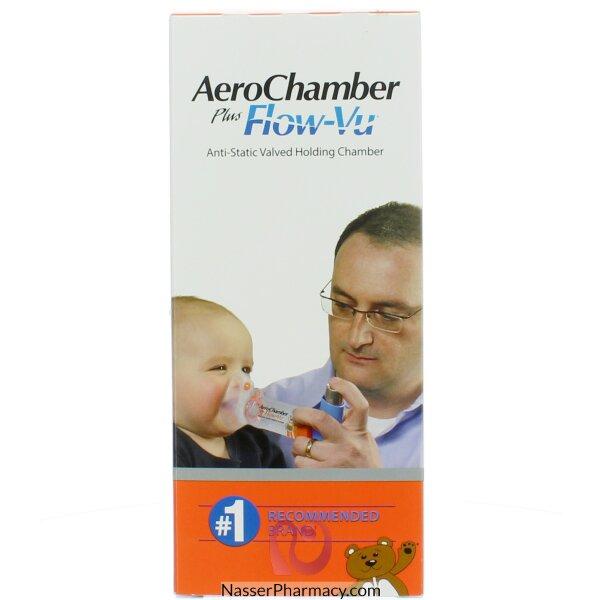 ايروشامبر بلس  Aerochamber Plus جهازاستنشاق للاطفال من سن 0 ال 18 شهر