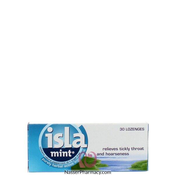 ايسلا- نعناع Isla-mint  ( 30 قرص مستحلب)