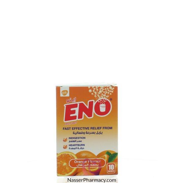 اينوeno  ملح ( نكهة البرتقال ) 10 أكياس