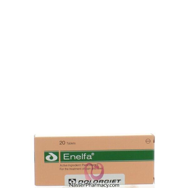 اينيلفا Enelfa ( 20 قرص)