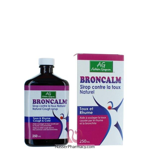 برونكالم Broncalm  شراب طبيعي للكحة 300 مل