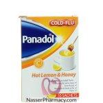 بنادول Panadol كولد آند فلو ( شراب الليمون و العسل الساخن) 10 أكياس