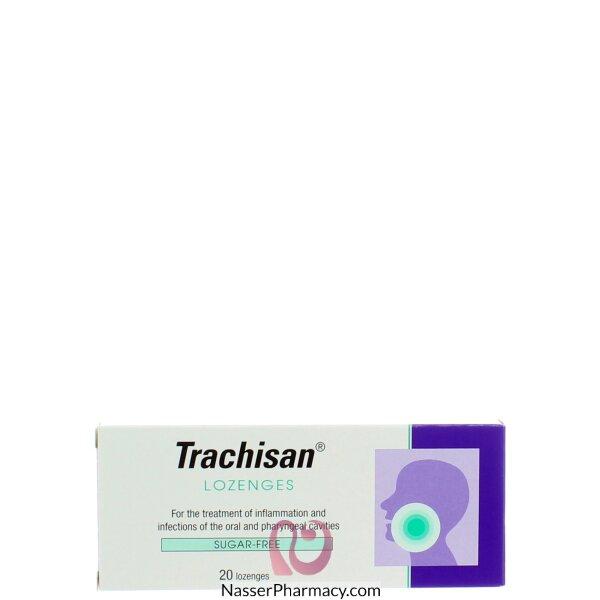 تراكيزان (trachisan)20  قرص للمص