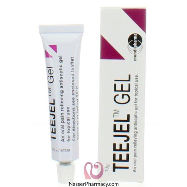 تيجيل جيل Teejel Gel لتسكين الم الاسنان - 10 جرام