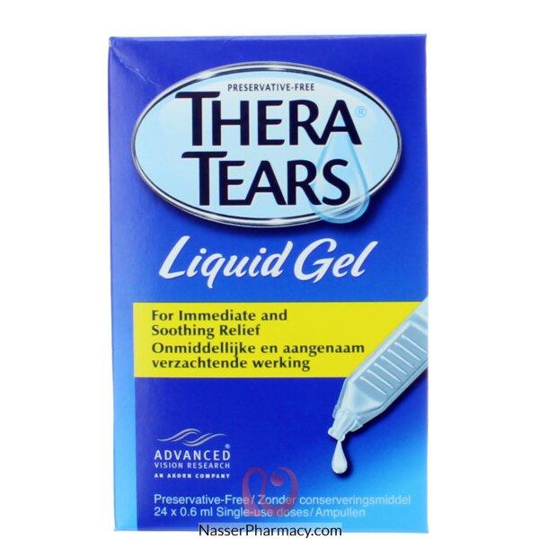 ثيرا تيرز  Thera Tears جل سائل ( 24 أمبولة)