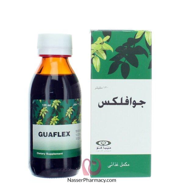 جوافلكس Guaflex  شراب للكحة 120 مل