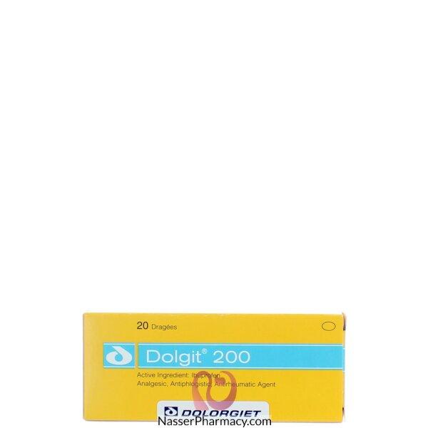 دولجيت Dologit 200 ( 20 قرص مغلف )