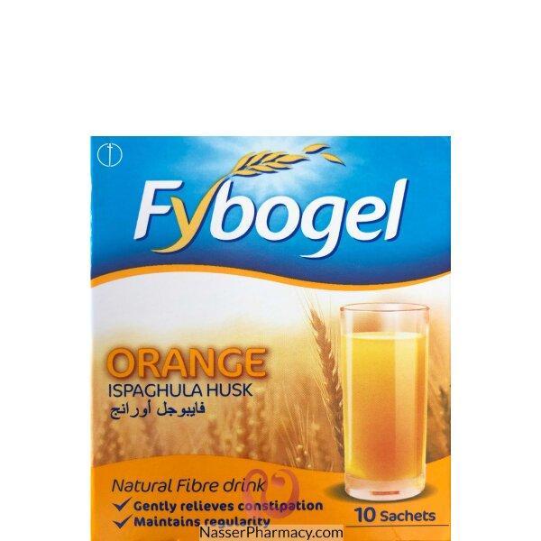 فيبوجل أورانج (fybogel Orange) 3.5 غ ( 10 أكياس)