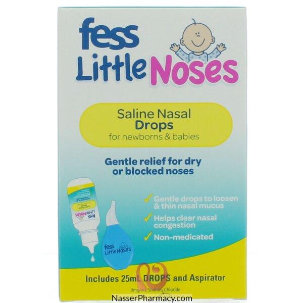 فيس Fess  ليتيل نوزيز (قطرة مع شفاط) 25 مل