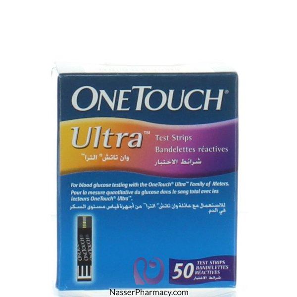 وان تاتش ألترا  One Touch Ultra  ( 50 شريط)