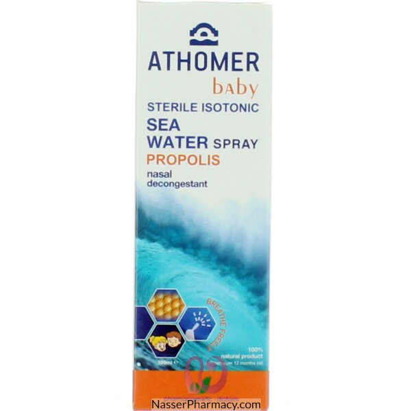 Athomer Propolis Baby Seawater Nasal Spray 100ml