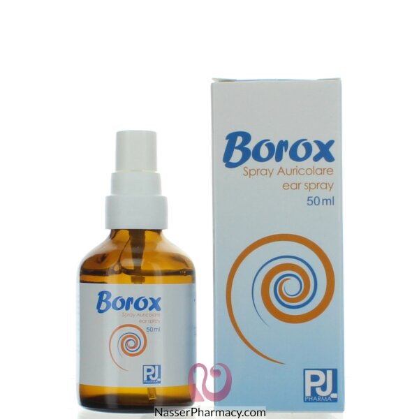 Borox Ear Spray 50 Ml