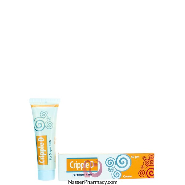 Cripple D Diaper Rash Cream 50 Gram