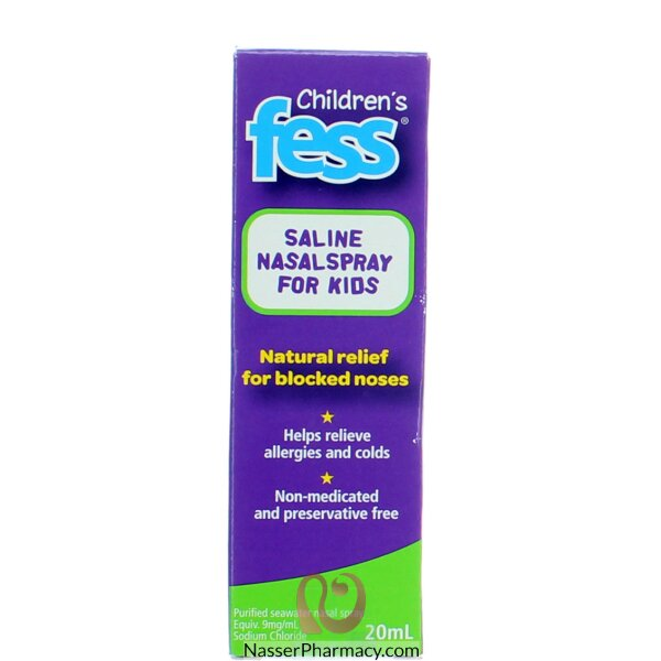 Fess ( Childrens ) Nasal Spray 20 Ml