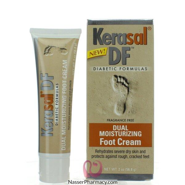 Kerasal Df Diabetic Formulas Dual Moisturizing Foot Cream 56.8g