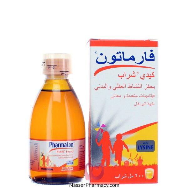 Kiddi Pharmaton Syrup 200ml