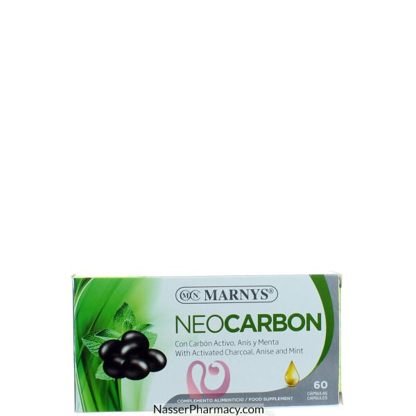 Marnys Neocarbon 800 Mg Caps 60