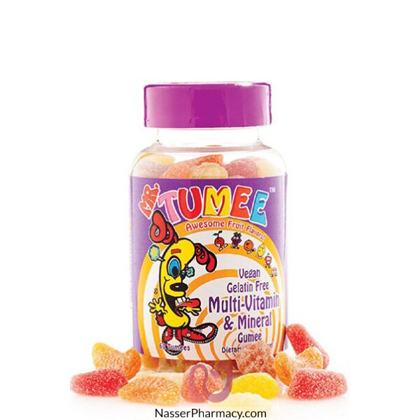 Mr.tumee Multi Vitamins &minerals Gumee 60 S