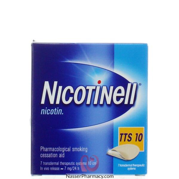 Nicotinel Tts-10 17.5mg 7 Transdermal Sy