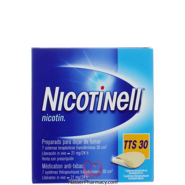 Nicotinell Tts-30 52.5mg 7 Transdrmal S