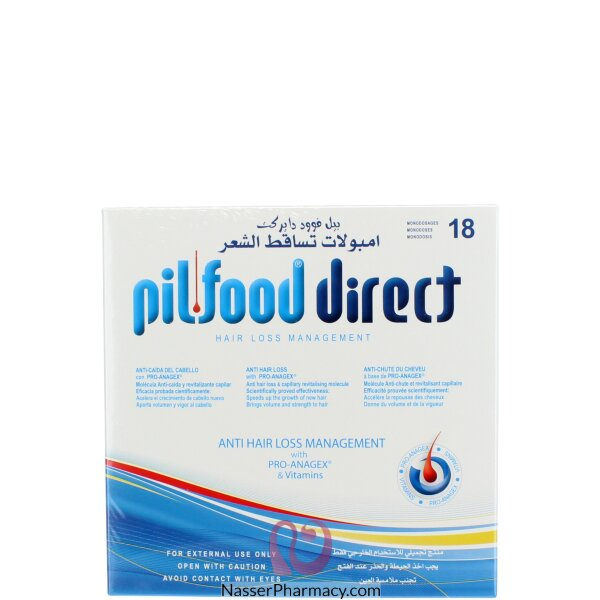 Pilfood Direct Hairloss Treatment Ampoules 18