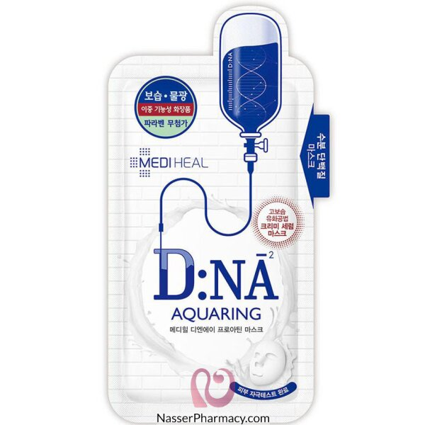 Mediheal Dna Proatin Face Mask Pack (aquaring) 25g