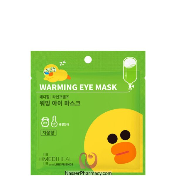 Mediheal Line Friends Citrus Warming Eye Mask