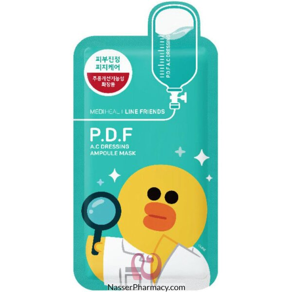 Mediheal Line Friends P.d.f Ac Dressing Mask