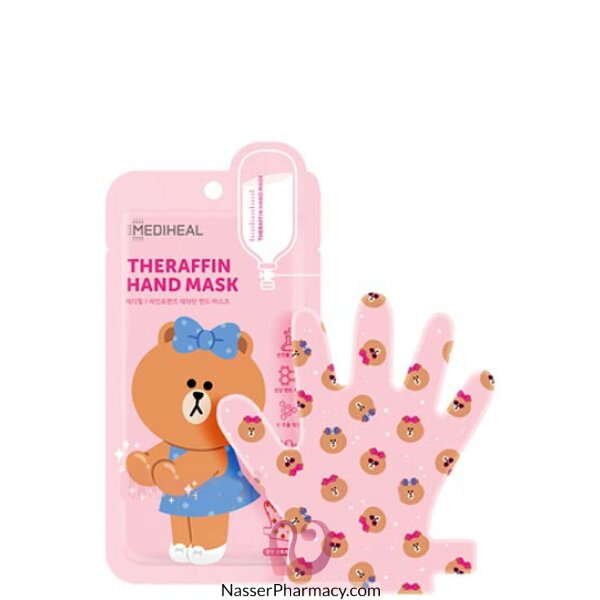 Mediheal Theraffin Hand Mask Line Friends