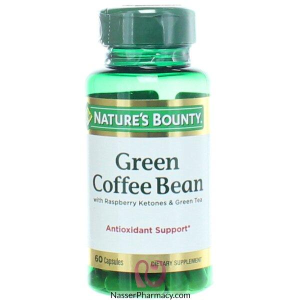 ناتشرز باونتي Nature's Bounty حبوب القهوة الخضراء، 60 كبسولة