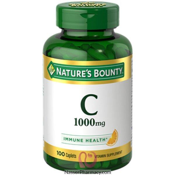 ناتشرز باونتي Nature's Bounty  فيتامين سي 1000مجم - 100قرص