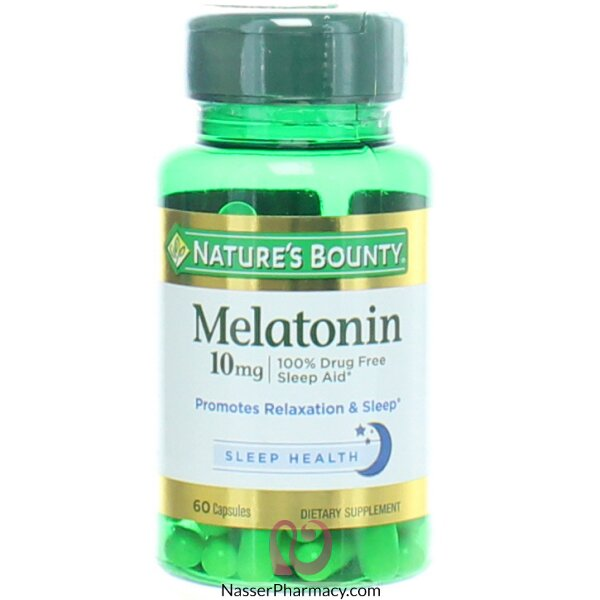 Nature's Bounty  Melatonin 10 Mg , 60 Capsules