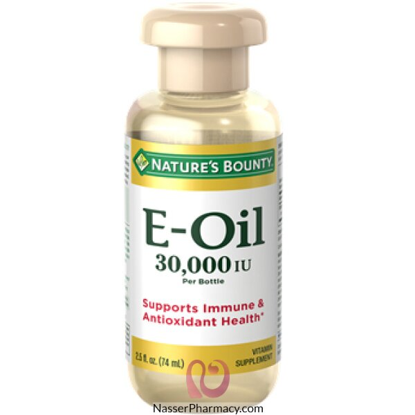 Nature's Bounty Vitamin E Oil 30,000 Iu, 74 Ml