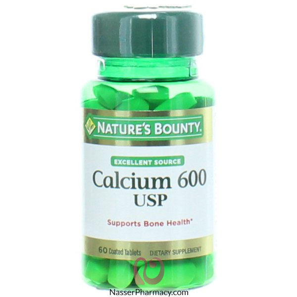 Natures Bounty Calcium 600mg - 60 Tablets
