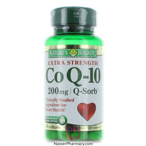 Nature's Bounty Co Q-10 200 Mg - 45 Rapid Release Softgels