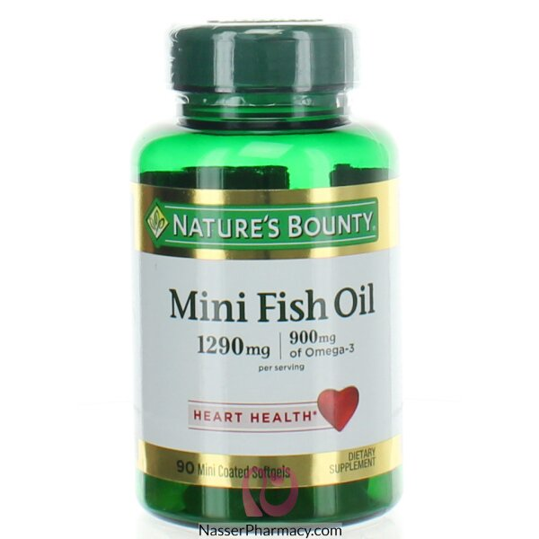 Nature's Bounty Mini Fish Oil 90 Soft Gel