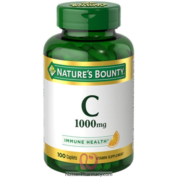 Nature's Bounty Vitamin C 1000 Mg -100 Caplets