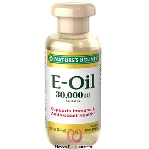 Nature's Bounty Vitamin E Oil 30,000 Iu, 74 Ml