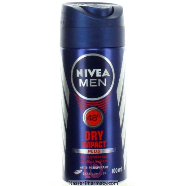 نيفيا دراي إمباكت Nivea  Dry Impact مزيل العرق للرجال 48 ساعة 100 مل - 62627