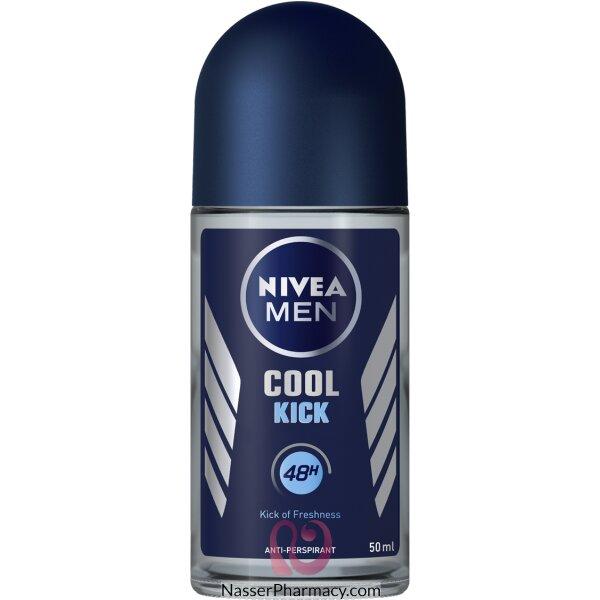 نيفيا كوول كيك  Nivea Cool Kick  مزيل العرق للرجال رول اون 50 مل