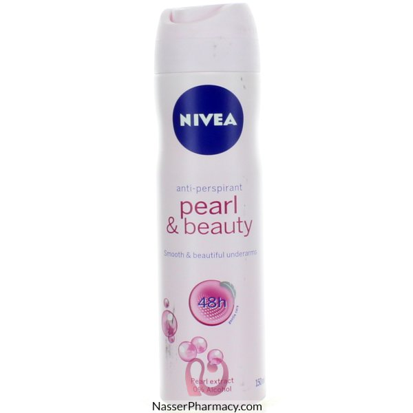 Nivea Deod For Women Aerosol Pearl 150ml-24971