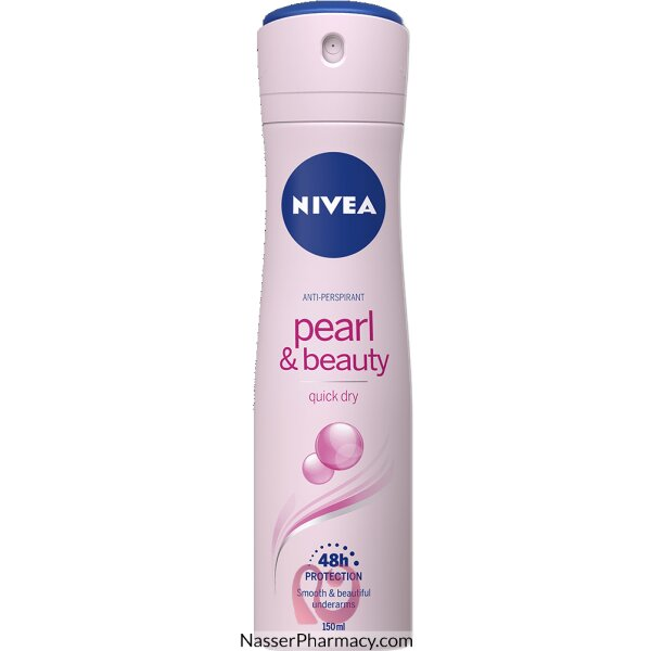 Nivea Deod For Women Aerosol Pearl 150ml