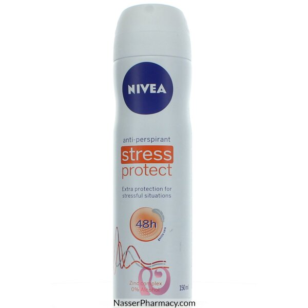 Nivea Deodrant For Women Aerosol Stress Protect 150ml