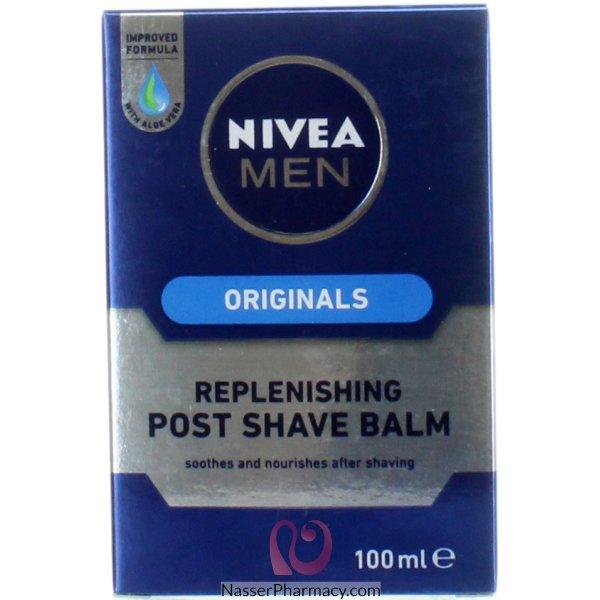 Nivea For Men A/shave Replenishing Balm 100ml-7047