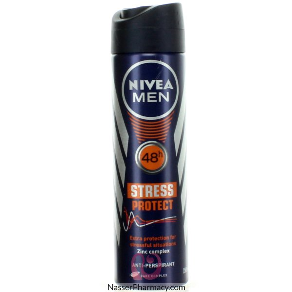Nivea For Men Deo Aerosol Stress Protect 150ml-47578