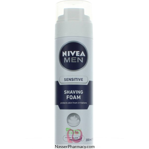 Nivea For Men Shaving Foam Sensitive 200ml