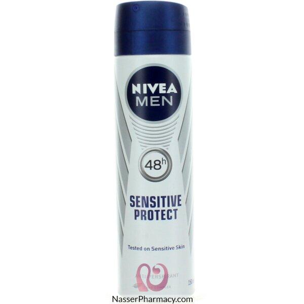 Nivea Men Deodorant Aerosol Sensitive 150ml